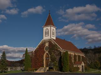 Wall Mural - Vine Covered Church