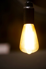 vintage filament lamp