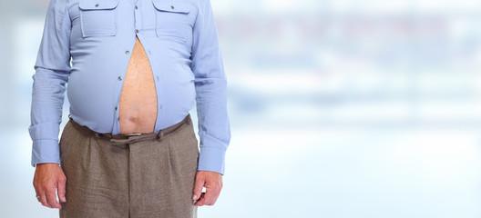 Big fat belly.