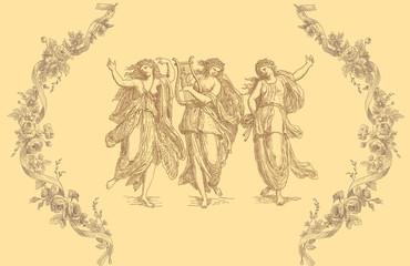Old greek goddess