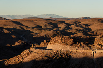 Printed kitchen splashbacks Brown Desert in Morocco