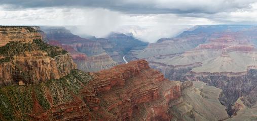 Grand Canyon, South Rim, panoramic image