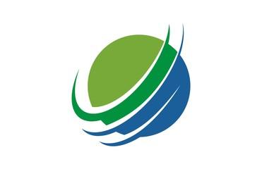 Circle Globe Global Logo