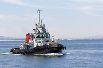 harbour tug boat - Buy this stock photo and explore similar