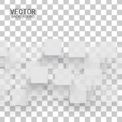 Vector white squares.