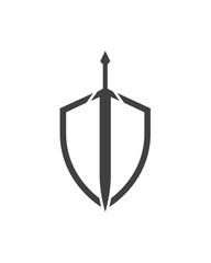 Sword and Shield Logo