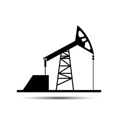 Extraction of petroleum. vector illustration