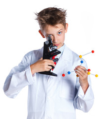 Young enthusiastic Chemist
