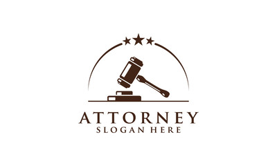 law, lawyer, attorney, vector logo design