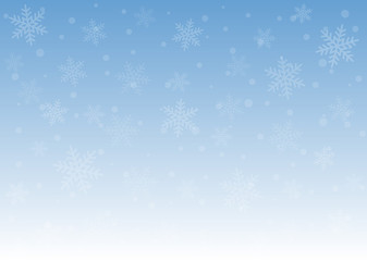 Christmas snow light blue background texture for the holidays