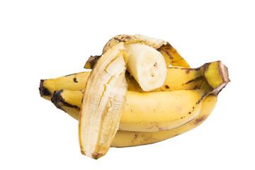 banana on white back ground