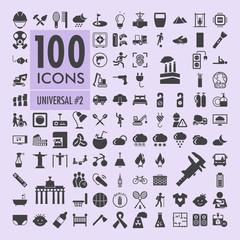 Universal icons set 2