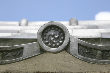 An image of Japanese roof tile