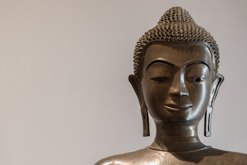 Buddha face for background