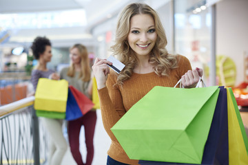 Big satisfaction after big shopping