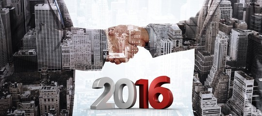 Composite image of 2016 graphic