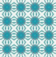 Ornament Muster Blau