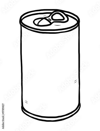 Tin can drawing