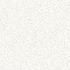 Wavy doodle seamless pattern