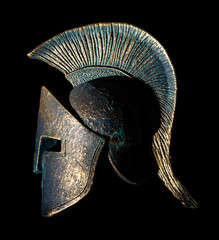 Ancient Greek Sparta Style Helmet Souvenir