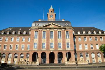 Rathaus in Herne, NRW, Deutschland