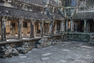 Inside View of Angkor Wat