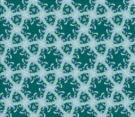 Seamless pattern. Vector elements are grouped. Drop into your AI swatches and use as fill.