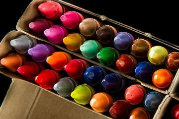 Big box of many crayons