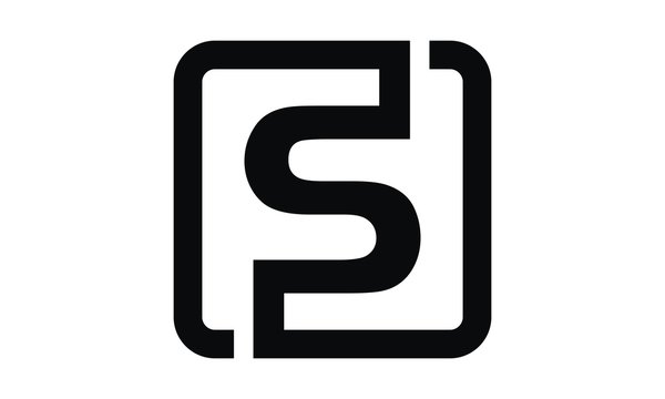 Letter FS Modern Logo