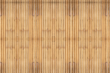 Bamboo background/Old and dirty bamboo fence textured.