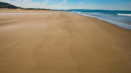 Aberdovey Aberdyfi Wales Snowdonia UK  vast beautiful seascape holiday destination horizontal composition