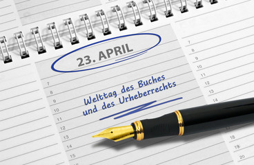 Notiz: Welttag des Buches und des Urheberrechts