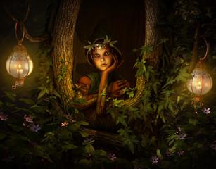 Tree Pixie, 3d CG