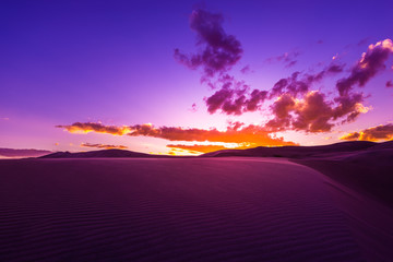 Beautiful Desert Sunset
