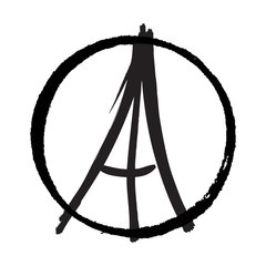 Freehand drawn sketch, peace for Paris, Eiffel Tower, Paris on white background, doodle hand drawn, Peace for Paris, Pray for Paris