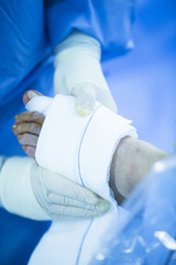 Hospital operating room medical surgery operation