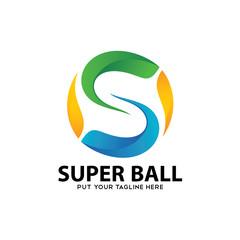 Super Ball Circle logo icon