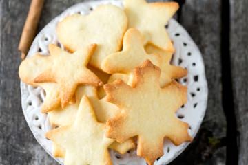 home baked Christmas cookies
