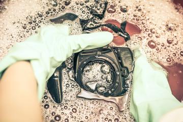 Repair camera