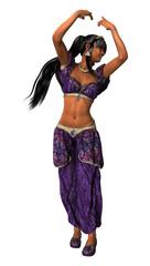 Young Harem Dancer