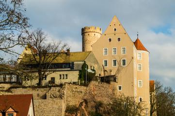 Burg Gnandstein in Thüringen