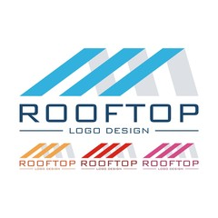Abstract Rooftop Logo Design Vector