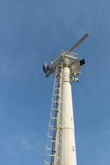 radar antenna in construction site