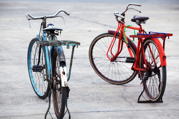 couple of vintage bicycle