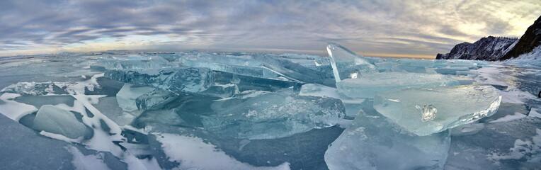 Baikal lake islands