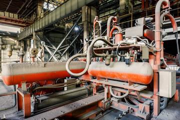 Industrial Pressure driven equipment scene in steel mill