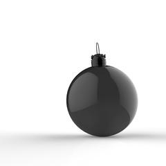 Empty 3d Christmas ornament