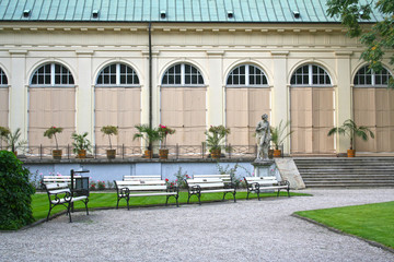 Old Orangery in Warsaw.