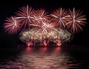 Fireworks display celebration