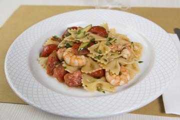 Italian pasta fish
